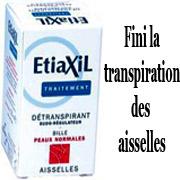 transpiration aisselles