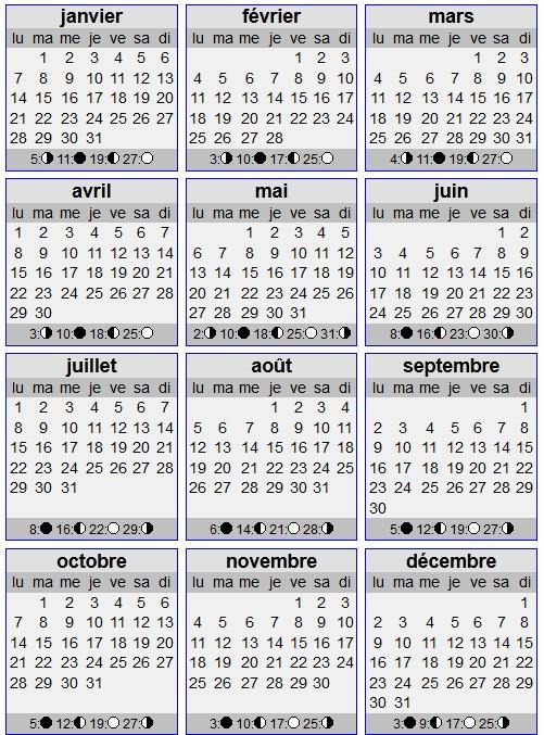 calendrier 2013, calendrier 2013 à imprimer,
