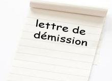 modèle lettre de démission, exemple lettre de démission,