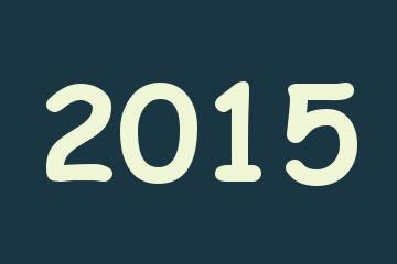 calendrier 2015, année 2015,