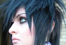 coupe de cheveux tecktonik, coiffure tecktonik,